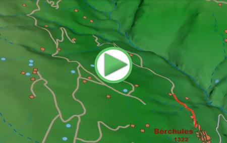 Animación de la ruta de Senderismo por La Alpujarra, desde Bérchules a la Junta de los ríos