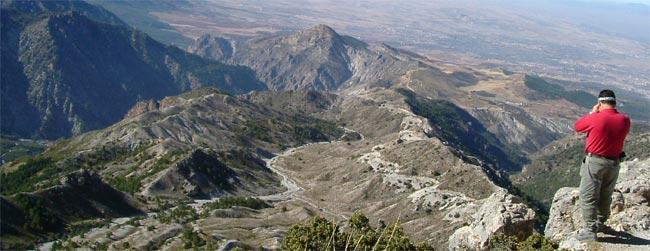 Vistas desde el Trevenque (Sierra Nevada)