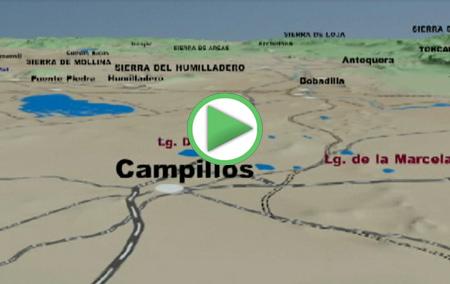 Animación virtual de Campillos y la Reserva Natural Laguna de Campillos