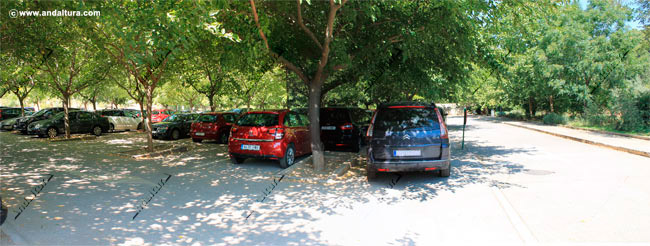 Parking de la Alhambra y el Generalife