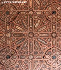 Techo de la Sala de la Barca, Palacio de Comares