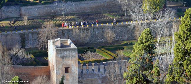 Torre del Cadí y Paseo de las Torres