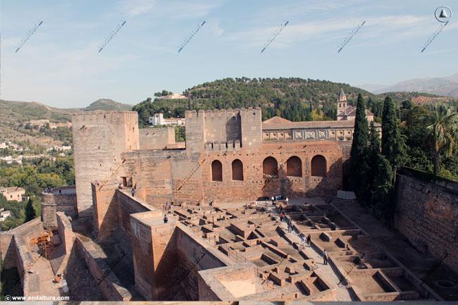 La Alhambra desde la Torre de la Vela