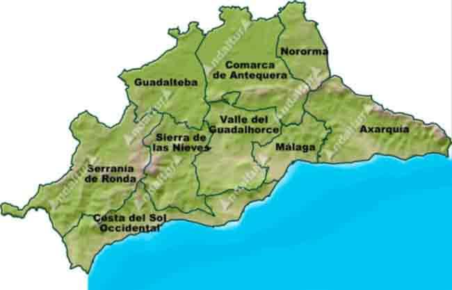 Andaltura Comarcas De Malaga