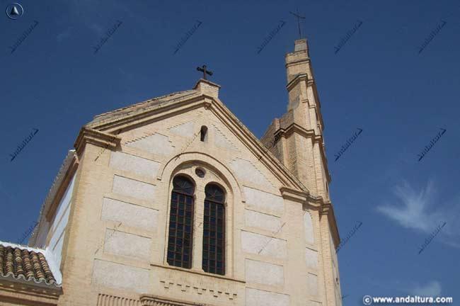 Portada de la Iglesia de Nuestra Señora de las Virtudes