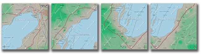 Mapas cartográficos y georeferenciados de la Reserva Natural Laguna de Fuente de Piedra