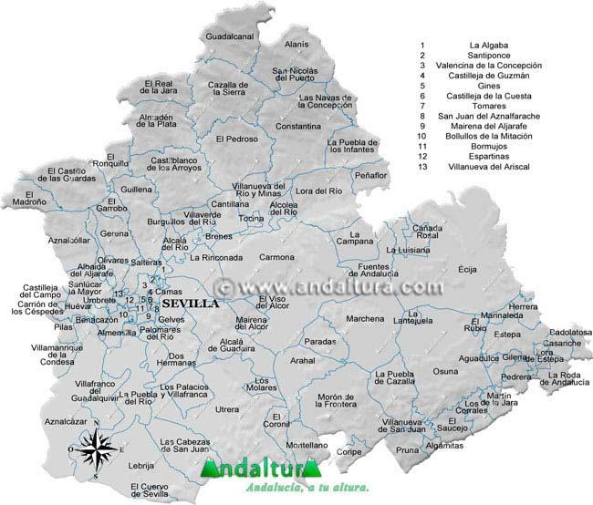 Andaltura  Provincia de Sevilla