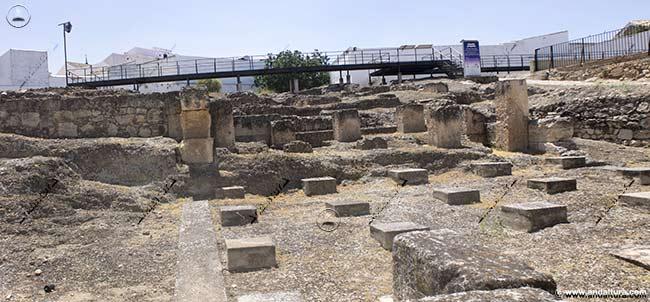 Ruinas de las Termas Romanas de Alameda