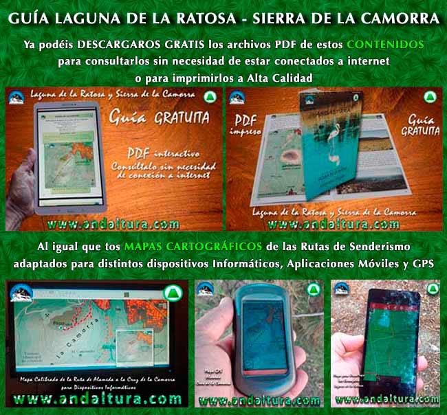 Que no te engañen, usa documentos originales. Toda la Información más actual sobre la Laguna de la Ratosa y la Sierra de la Camorra de Andaltura