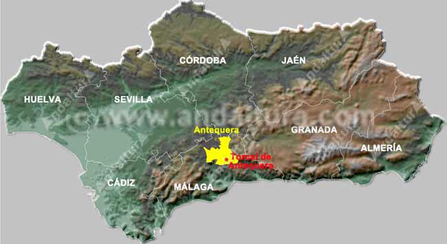 Mapa De Antequera Malaga.Torcal De Antequera Malaga Viajes Apropega