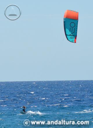 Actividad, Kitesuf en Andalucía