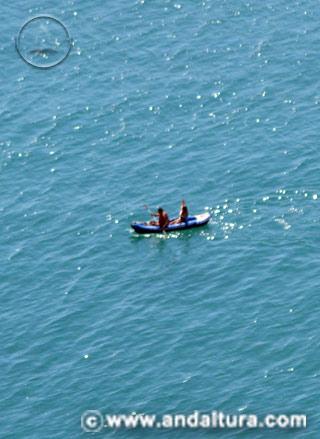 Actividades, Rutas en Canoas por Mar en Andalucía