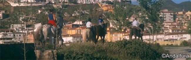 Rutas a Caballo por Andalucía