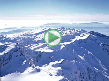 la alta montaña, animación de las crestas del corral del veleta
