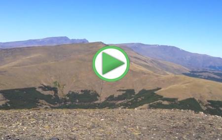 Visión desde la Cima más elevada de Almería, Chullo