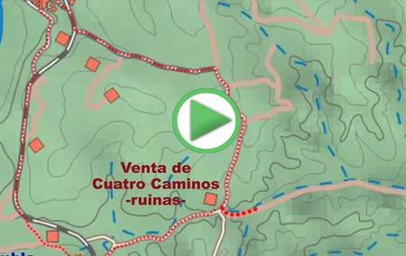 Animación del GR-142 entre las localidades de Cádiar y Jorairátar (Ugíjar)