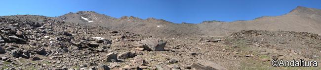 Puntal de la Caldera y Loma del Mulhacen