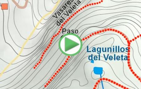 Animación de la Ruta Circular por el Veleta, Cerro de los Machos y Puntal de Loma Púa