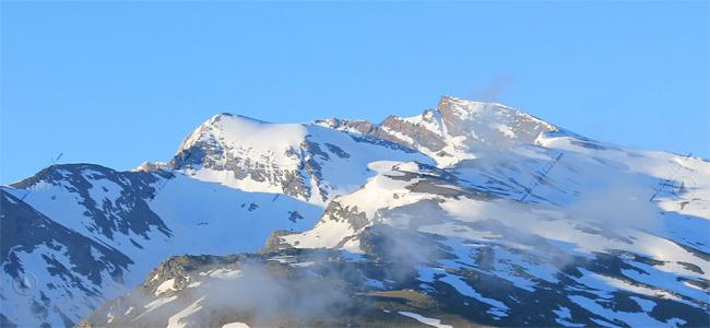 Veleta y Cerro de los Machos desde la Loma de Maitera