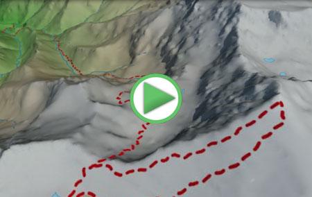 Animación de la ruta de Güéjar-Sierra al Mulhacén