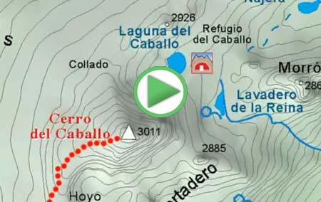 Animación al Cerro del Caballo desde Lanjarón, por la Loma del Caballo