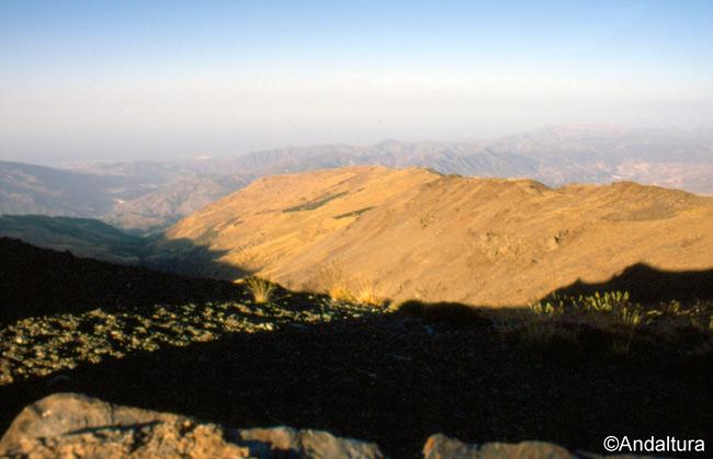 Loma del Caballo, desde el Cerro del Caballo