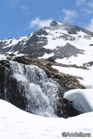Cascada y Puntal de los Cuartos