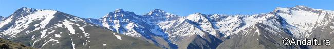 Los Colosos de Sierra Nevada: Alcazaba, Mulhacén y Veleta, entre otros