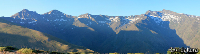 Amanece en las Cumbres de Sierra Nevada
