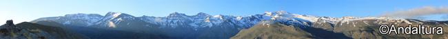 Tres miles de Sierra Nevada, la Alta Montaña de Andalucía