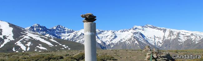 La Alta Montaña desde el Vértice Geodésico Papeles