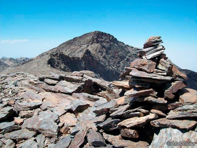 Veleta desde el Cerro de los Machos