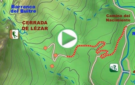 Animación de la Ruta a la Cerrada de Lézar