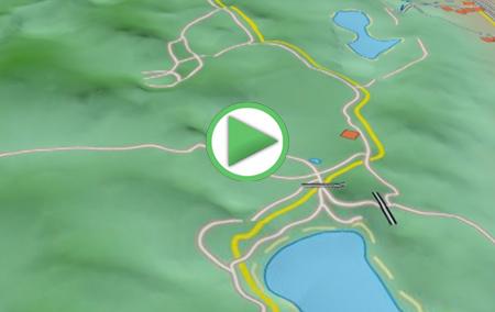 Animación virtual de la ruta por la Reserva Natural Lagunas de Archidona