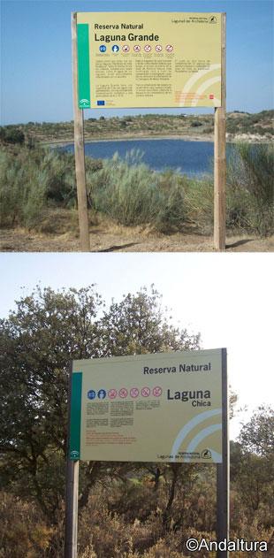 Cateles de las Lagunas de Archidona: Laguna Grande y Laguna Chica