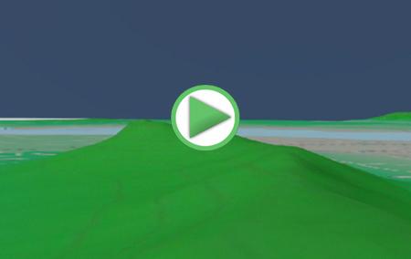 Animación virtual del recorrido circular por la Laguna Fuente de Piedra