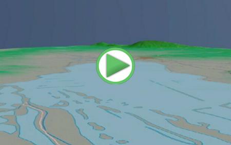 Animación virtual del Sendero Las Albinas, desde el Centro de Vistitantes hasta el Mirador de las Vicarías y regreso