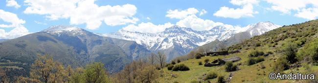 Cortijos y Refugio del Hornillo, vista general de la zona