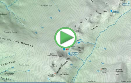 Lanjarón en relación a Sierra Nevada