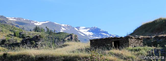 Cerro del Caballo, durante la ascensión a las Casas de Tello
