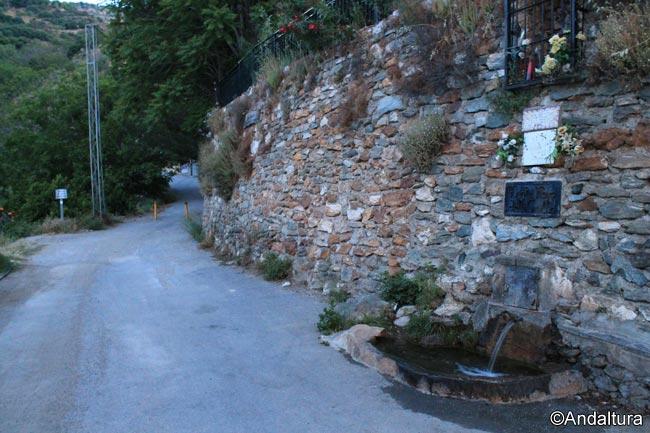Fuente Hoya del Grillo, al inicio de nuestra ruta