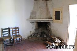 Interior del Refugio de Tello