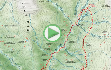 Animación ruta desde Capileira hasta el Cortijo de las Tomas y regreso al municipio