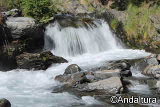 Río Guarnón a la altura de las Labores