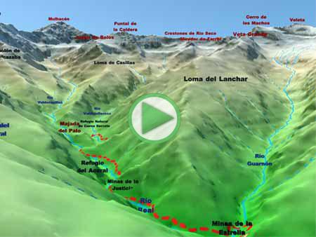 Animación ruta desde Güéjar-Sierra hasta la Majada del Palo