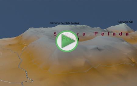 Animación Virtual del recorrido del Sendero de la Ruta Verde por el Torcal