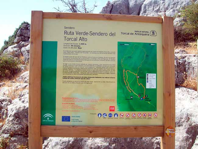 cartel-sendero-ruta-verde-torcal