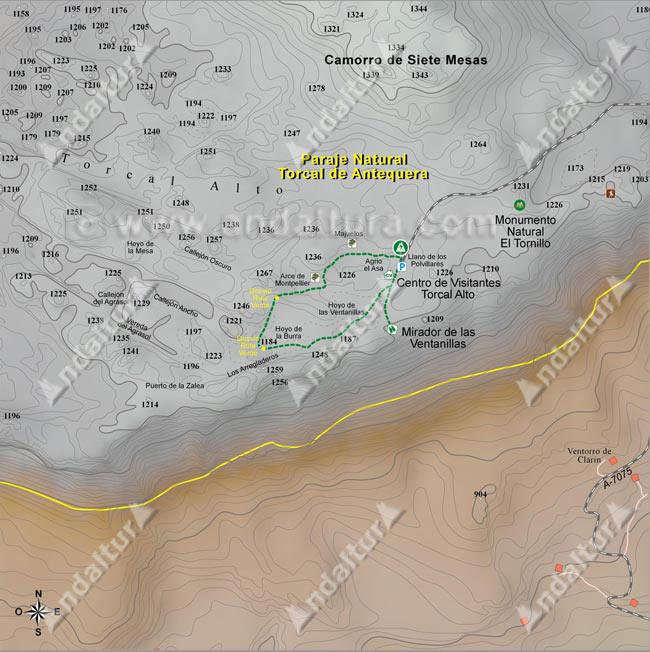 Sendero Verde por el Torcal de Antequera