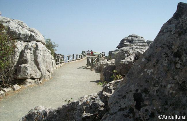 Mirador de las Ventanillas, a escasos metros del Centro de Visitantes Torcal Alto