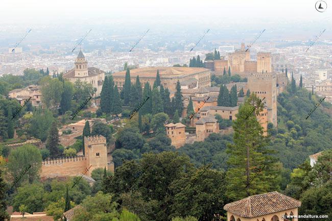 La Alhambra desde la Silla del Moro